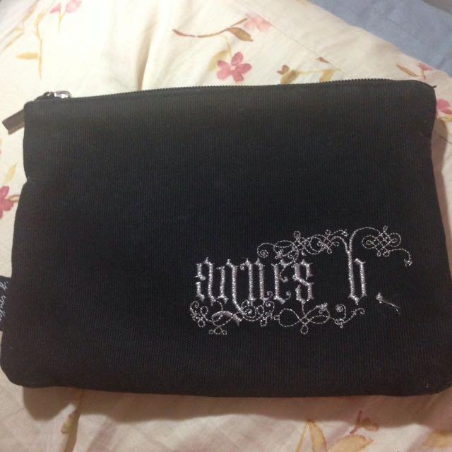 Agnesb 帆布化妝包
