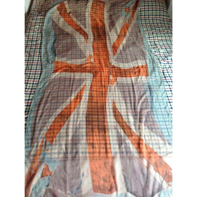 Aldo British Flag Scarf