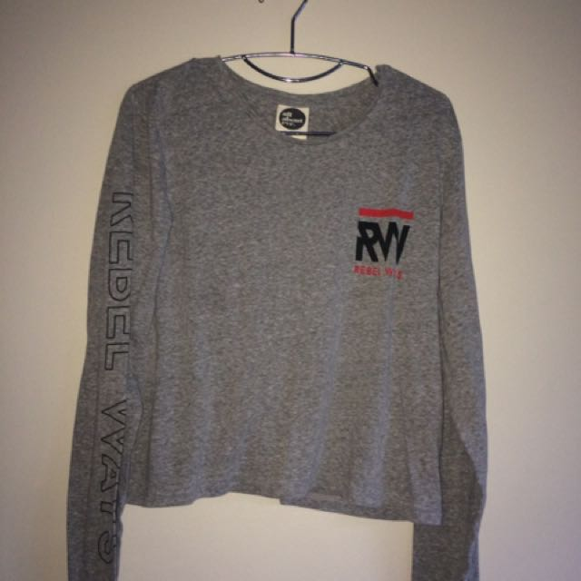 ALL ABOUT EVE - RW Cropped Long Sleeve