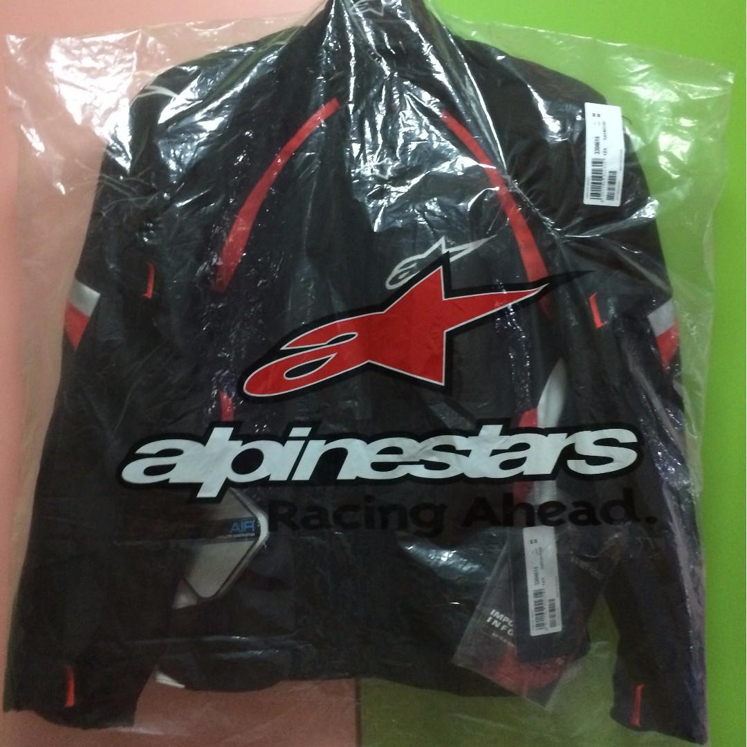 Alpinestars Haze Air Jacket Black White Red