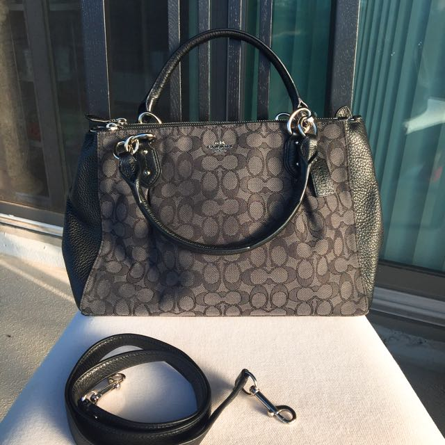 Authentic Coach Classic Two Way Purse