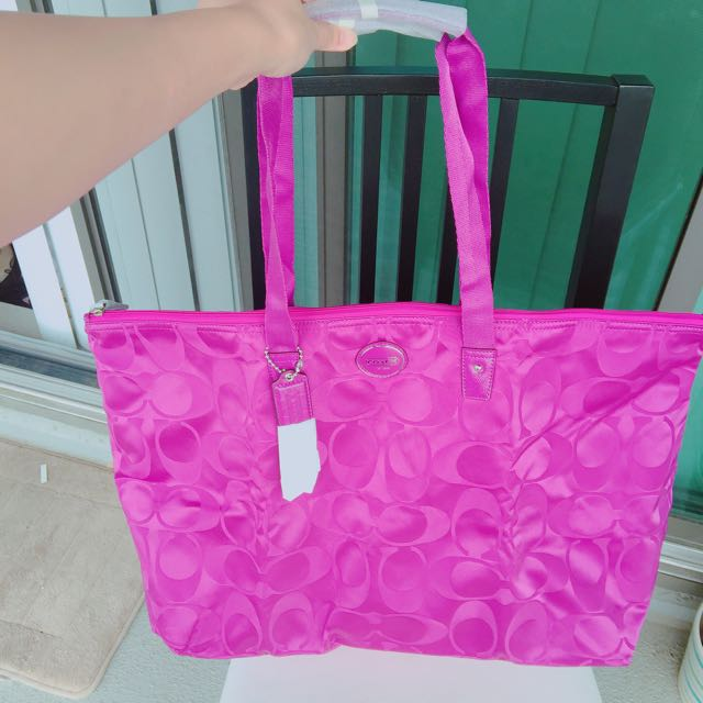 Authentic NWT coach Carry-all Travel Tote