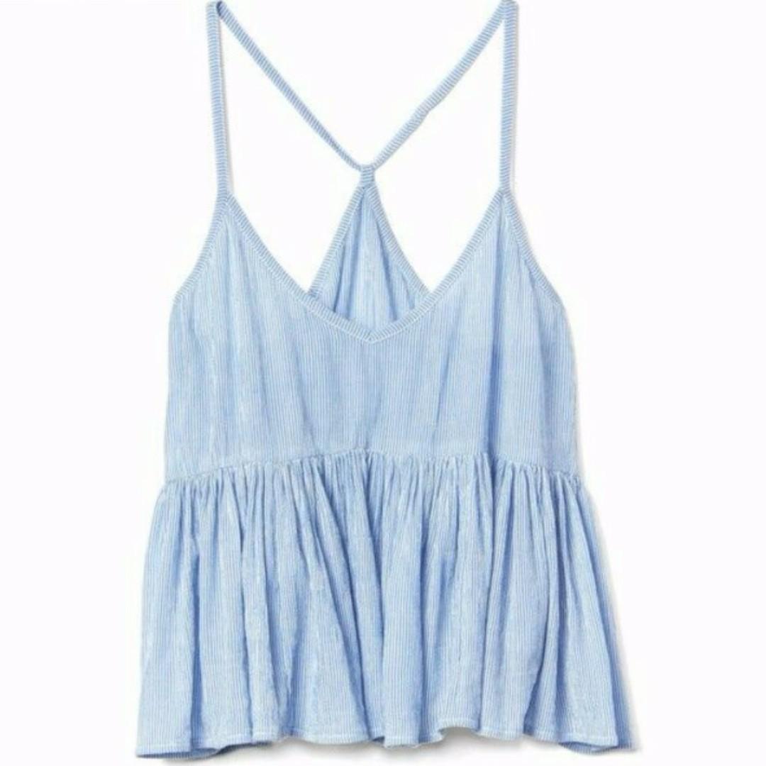 baby blue top