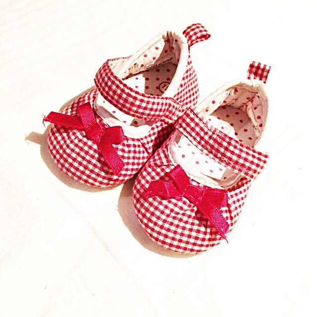 Baby Girl Red Shoes For Newborn