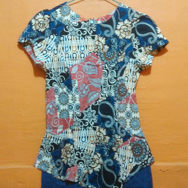 Baju Batik Kantoran