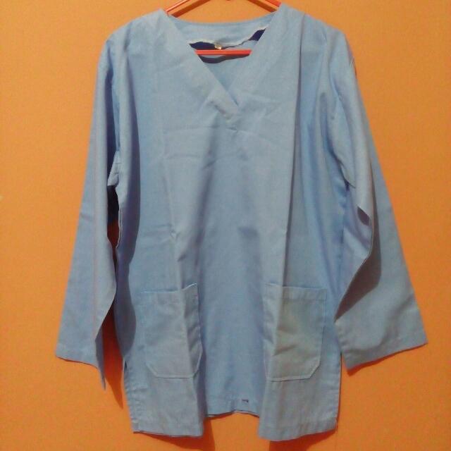 Baju OK/jaga malam/klinik