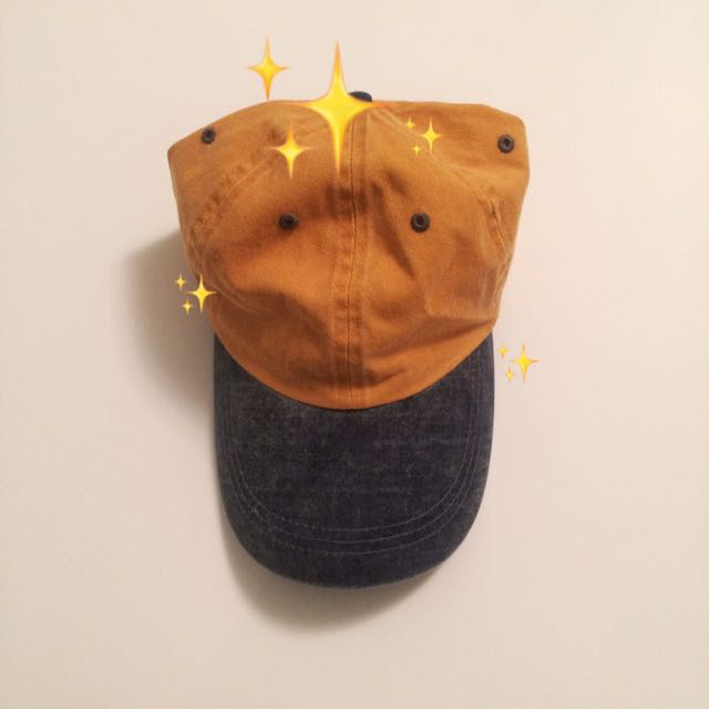 Baseball Hat ( Saturated Yellow&Blue )