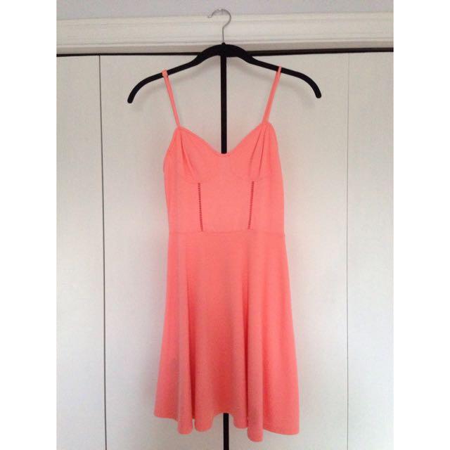 BCBG Orange Summer Dress