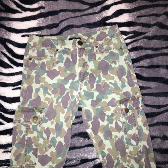 BDG camo pants from Urban Outfittets