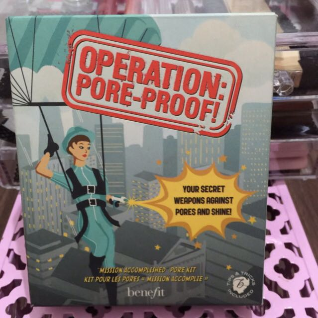 Benefit Operation Pore-proof