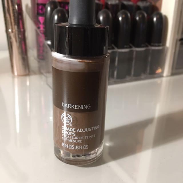 Body Shop Shade Adjusting Drops Dark