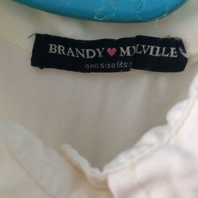 Brandy Melville Collared Button Up