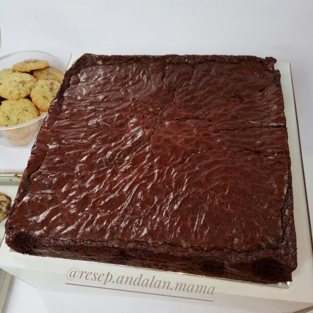 Brownies Andalan Mama (24cm)