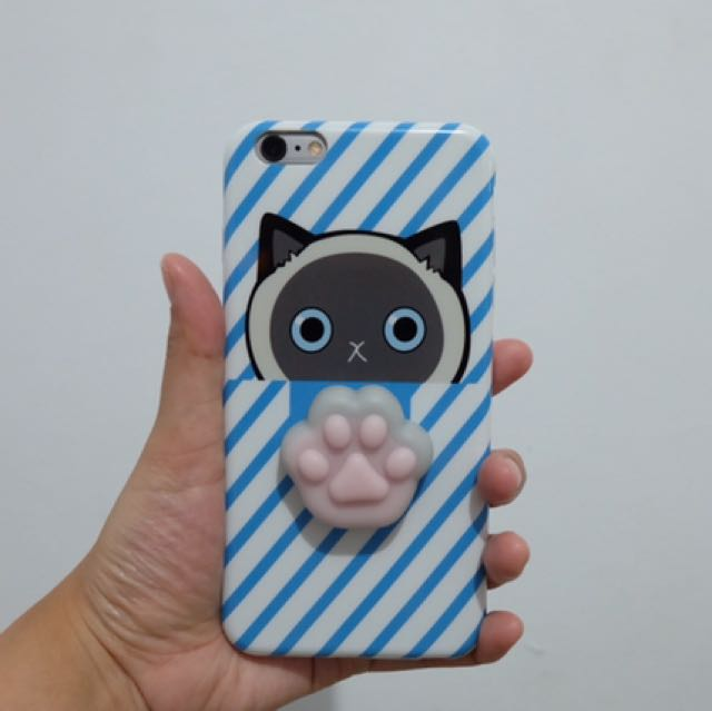 Casing Iphone 6plus Cat Squishy BARU!