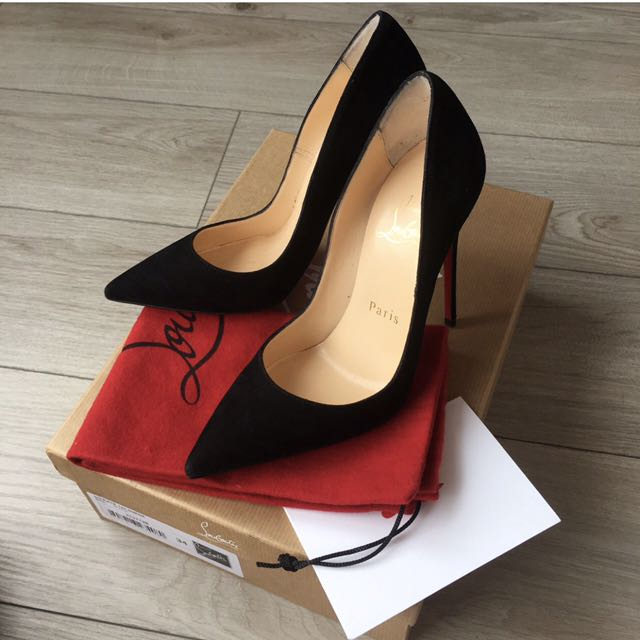 Christian Louboutin CL So Kate Black Suede