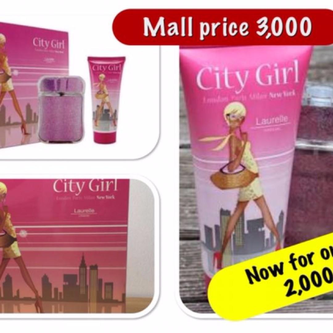 City Girl Lauel London Perfume And Body Wash