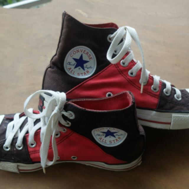 Converse Chuck Taylor Classic High-cut (Red/black)