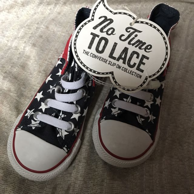Converse No Lace up