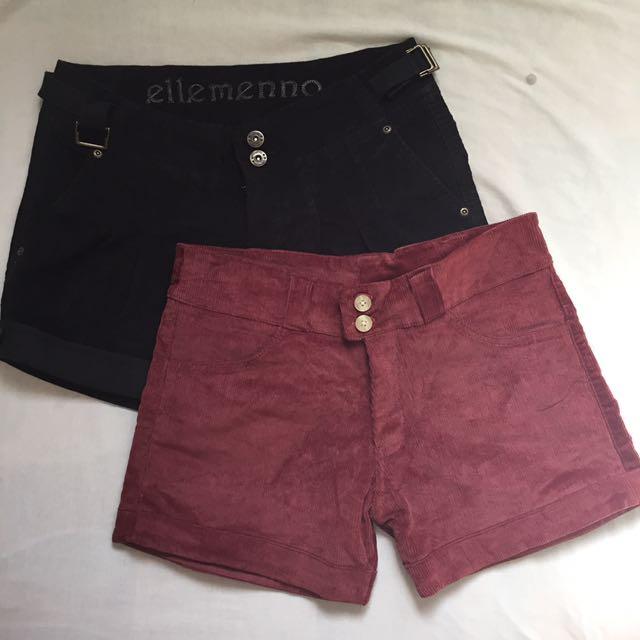 Corduroy Shorts Bundle