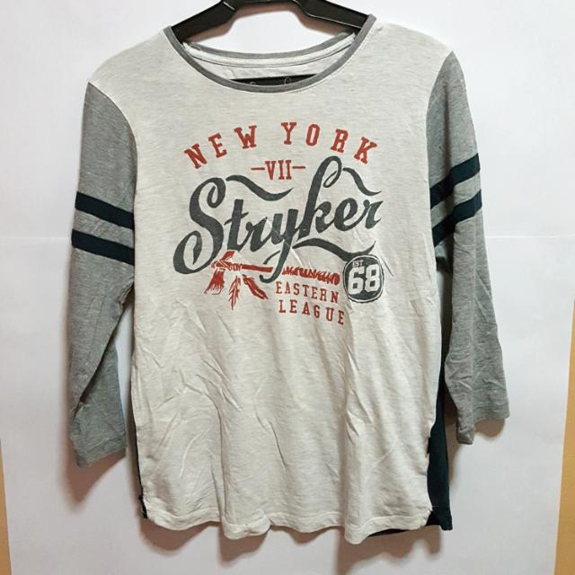 Cotton-on Three-Quarter-Sleeve Shirt