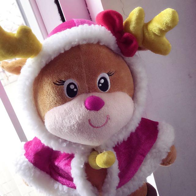 CUTE christmas deer doll 🤗 [CHEAP]