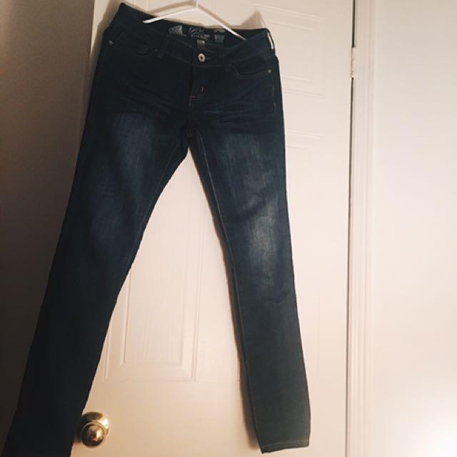 Dark Denim Skinny Jeans - Refuge