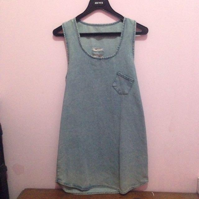 Denim Simple Dress