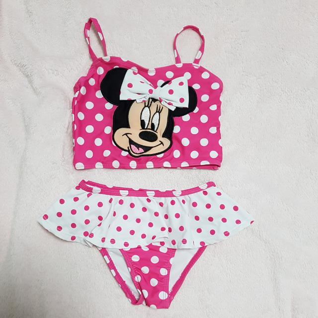 64e601afc7279 Disney Store Minnie Mouse Swimming Costume, Babies & Kids on Carousell