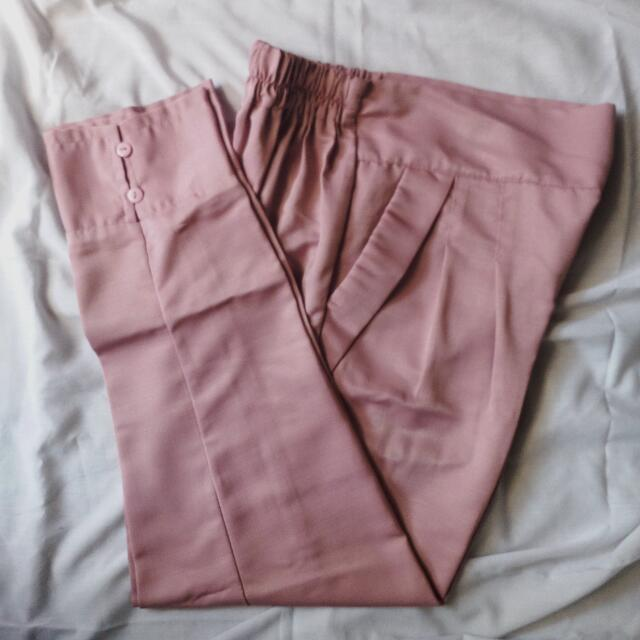 Dustypink Pants