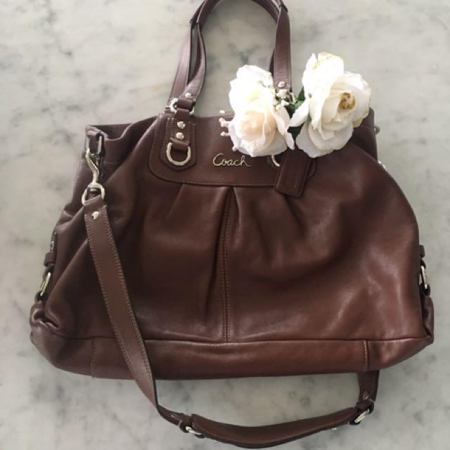 EUC ✨Authentic✨Coach Leather Bag