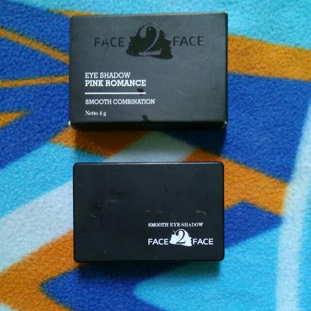 Face 2 Face Eyeshadow Pink Romance