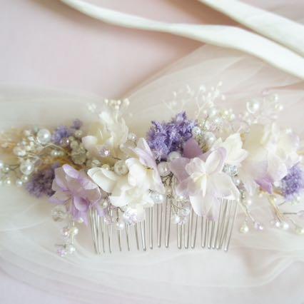 Flower Haircomb