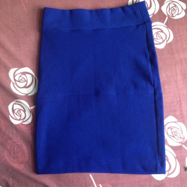 Forever21 Blue Skirt