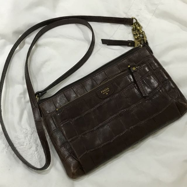 888d38480 Fossil Vintage Revival Collection (Crocs) -small crossbody, Women's ...