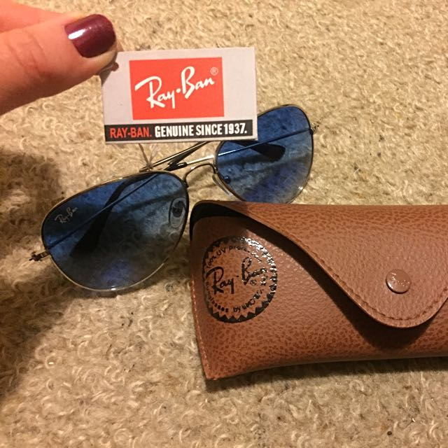 Genuine Ray Ban  Aviator Sunglasses