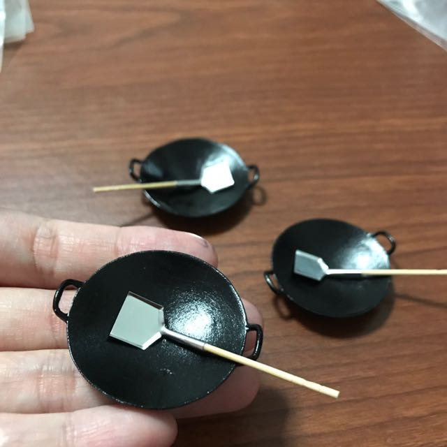 Handmade Miniature Chinese Wok @$5 Each