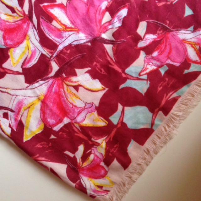 H&M Floral Scarf