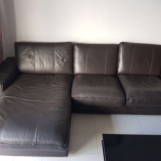 IKEA Sofa With Chaise Lounge