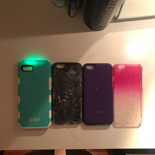 iPhone 6 Case Lot (includes Selfie Case)