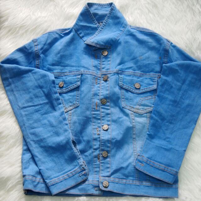 Jacket Jean's Light Blue