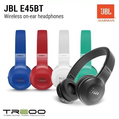 JBL E45BT Bluetooth Headphones w/ Microphone, Electronics