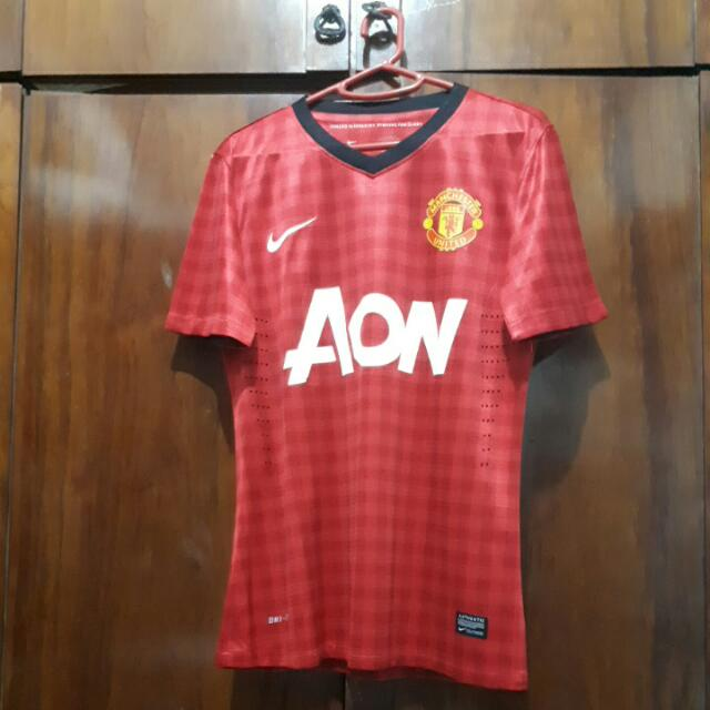 Jersey Home Manchester United 2012