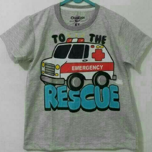 Kaos Anak Oshkosh 002 7-10thn