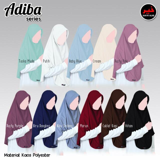Khimar Adiba Series