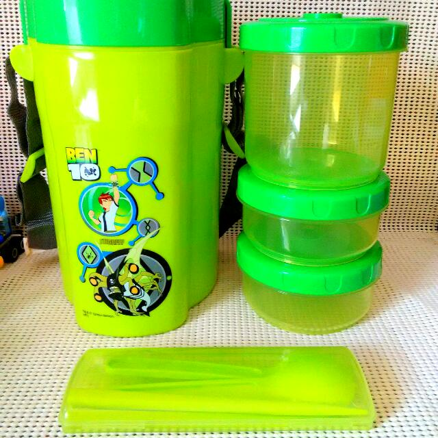 Kids Food Container Ben 10 Stinkfly (Box Bekal)