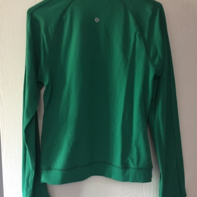Ladies Size 8 - Lulu Lemon Green Sweater