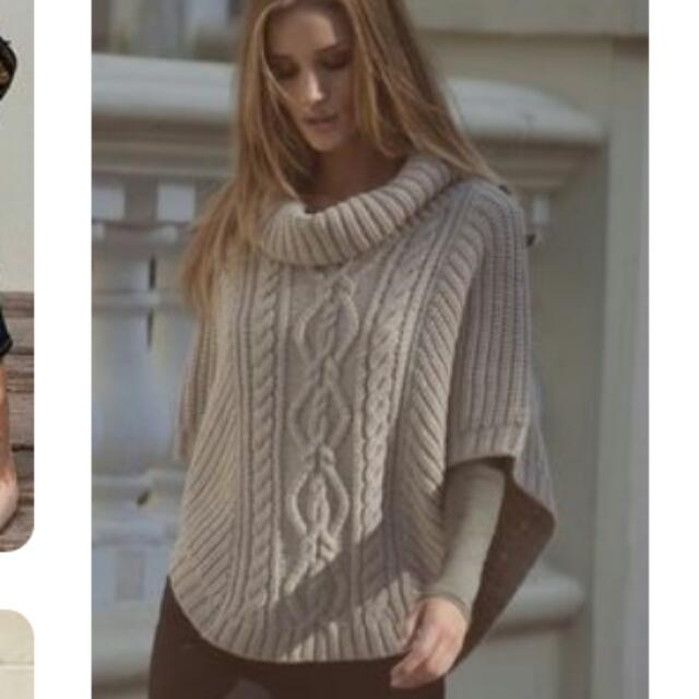 Looking For: Loose Turtleneck Poncho