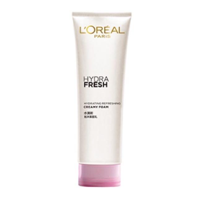 #FreePostage L'oreal Face Wash Hydrafresh Refreshing Creamy Foam