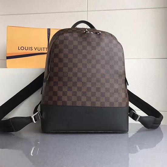 1550f9ba755 Louis Vuitton Damier Ebene Graphite Jake Backpack N41558 on Carousell