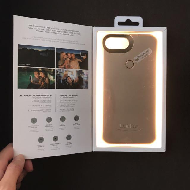 LuMee Two Selfie Phone Case For iPhone 6 Plus/6s Plus/7 Plus